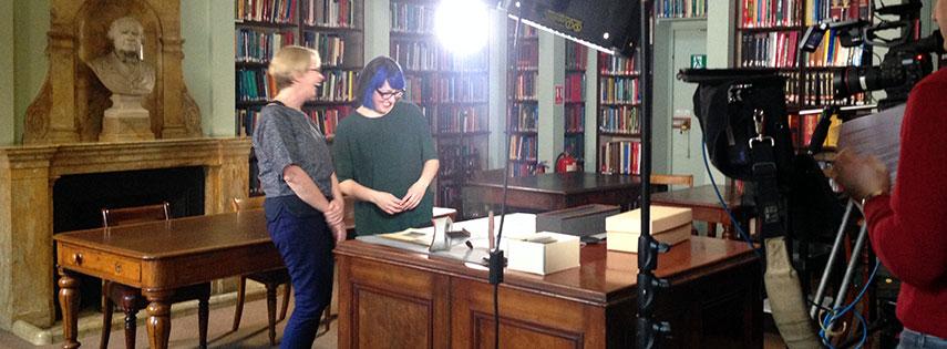 Kristin Hussey talks to Professor Joanna Bourke