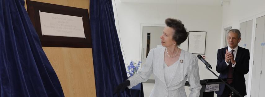 Royal visit to graduate centre