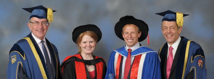 Honorary degree graduates