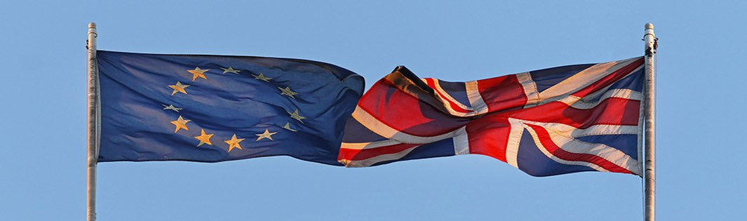 UK and EU flag