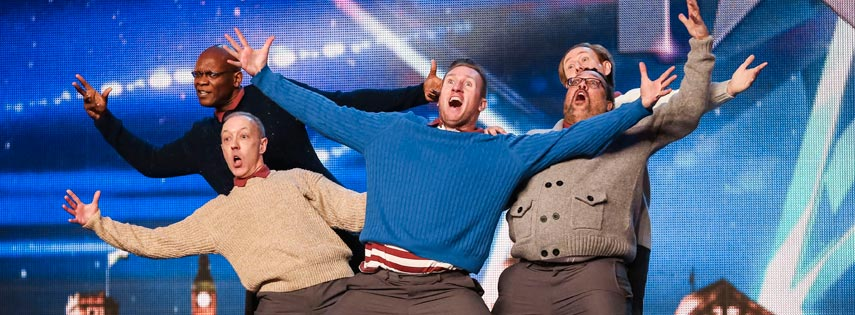 Old Men Grooving (OMG) at ITV's Britain's Got Talent - Image copyright (c) ITV