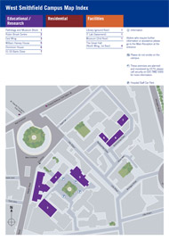 West Smithfield campus map