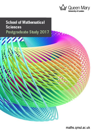 School of Mathematical Sciences - Entry 2015