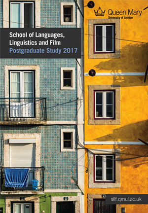 School of Languages, Linguistics and Film - Entry 2015