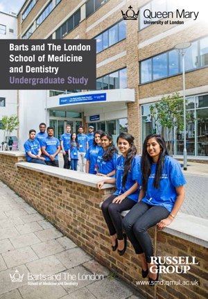 Barts and The London School of Medicine and Dentistry - Entry 2015