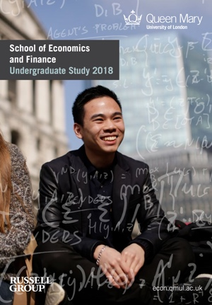 School of Economics and Finance - Entry 2016