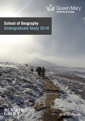 School of Geography - Entry 2016