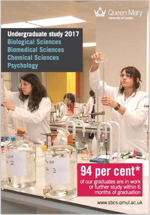 SBCS UG Prospectus 2016 Chemistry