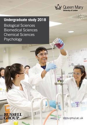 SBCS UG Prospectus 2016 Biology